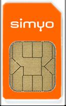 Simyo-SIM-Karte