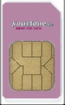 Yourfone-SIM-Karte