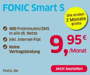 FONIC Smart S Prepaid Tarif