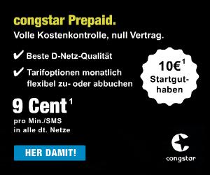 congstar Prepaid Starterpaket