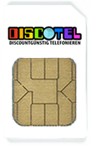 DISCOTEL SIM Karte