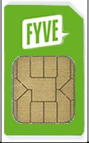 FYVE-SIM-Karte