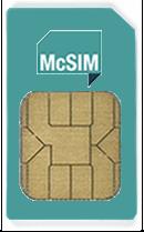 McSIM SIM Karte